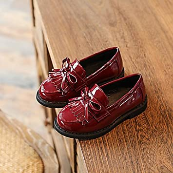Wuyulunbi@ Zapatos De Niñas De Microfibra Sintético Pu Primavera Otoño Flor Chica Zapatos Botas Moda