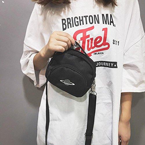 Bag Zipper Handbags Crossbody Shoulder Casual Print Messenger Canvas Women Mini Shoulder Everpert ExqHAFwfF