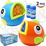 Best Bubble Machines - JOYIN 2 Pack Bubble Machines for Kids, Automatic Review