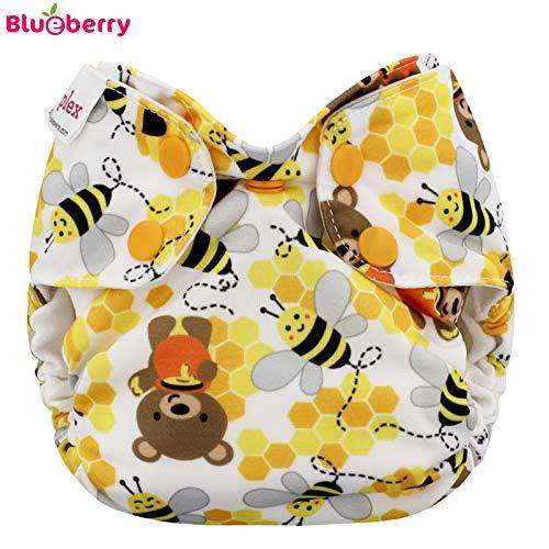 Blueberry Simplex Newborn (AIO) - Bears and the Bees - (Bio-Baumwolle)