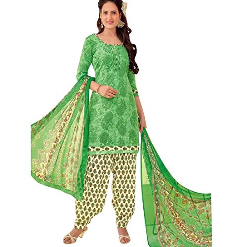 Ladyline Readymade Ethnic Printed Pure Cotton Salwar Kameez Patiala Salwar Indian Dress