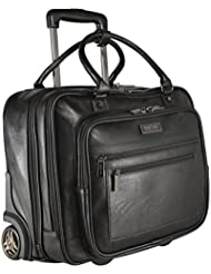 Kenneth Cole Reaction Wheel Fast Double Compartment Top Zip Wheeled Computer Case Overnighter
