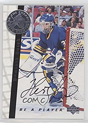 Dominik Hasek (Hockey Card) 1995-96 Upper Deck Be a Player - [Base] - Autographs [Autographed] #S192