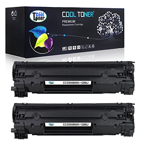 Cool Toner 2 Pack High Yield 3,000 Pages Compatible Toner Cartridge Replacement for Canon Cartridge 128 Crg-128 Compatible Used For ImageClass MF4450 MF4570 MF4770N MF4580 MF4880DW MF4890DW D530 D550