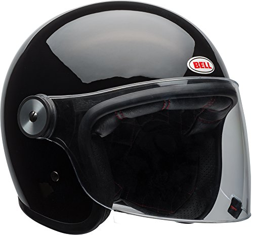 Bell Riot Flip-Up Motorcycle Helmet (Solid Gloss Black, X-Large)