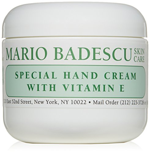 Mario Badescu Special Hand Cream with Vitamin E, 4 oz. (Cream Foot Vitamins)