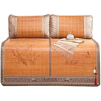 sanheng fire Summer Sleeping Mat Bamboo Mat Cooling Mattress Topper Pad Double-Sided Folding Rattan Pad