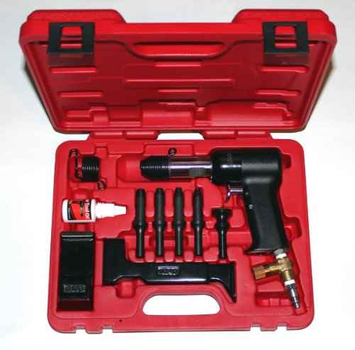 - Boulderfly Deluxe 737 Red Box 3X Rivet Gun and Bucking Bars Kit