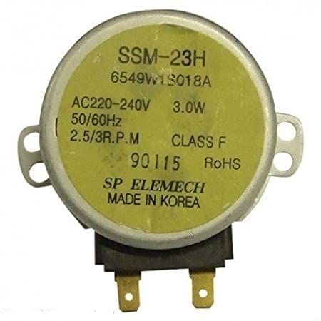 ssm23h Motor Plato Giratorio Horno Microondas Lg 6549 W1s018 a ...