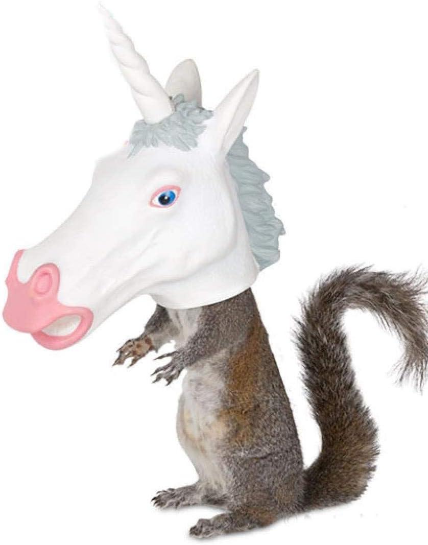 Accoutrements LLC Squirrel Feeder Unicorn Standard