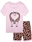 Family Feeling Deer Baby Girls' Infant Sleepwear Toddler Pajama Set Pjs 18-24 Months