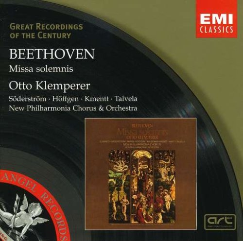 Beethoven: Missa Solemnis in D major,Op.123 by EMI Classics