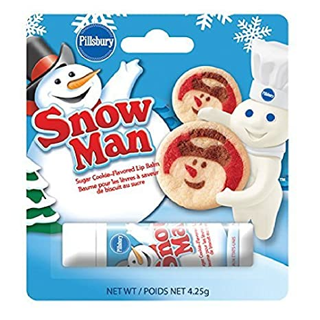 Buy Pillsbury Cookie Dough Snowman Lip Balm Online At Low Prices In