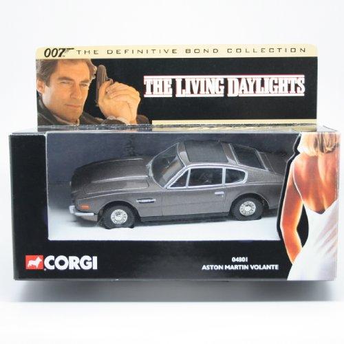 James Bond Diecast (ASTON MARTIN VOLANTE * THE LIVING DAYLIGHTS * 2001 Corgi Classics 007 The Definitive James Bond Collection 1:36 Scale Die-Cast Vehicle)
