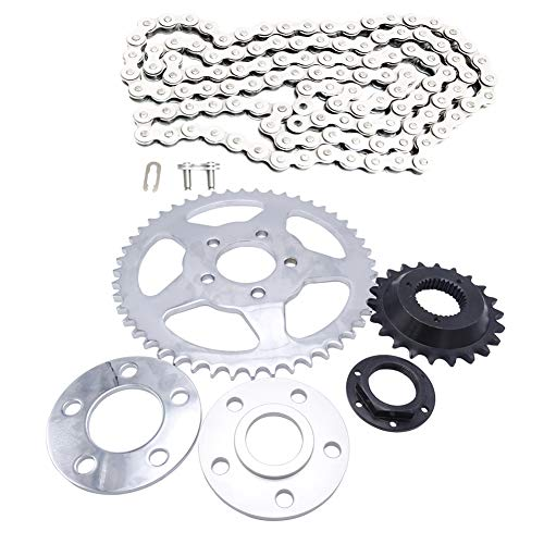 Driven Racing Chain Drive Transmission Sprocket Conversion Kit for 2000-2019 Harley Sportster XL ()