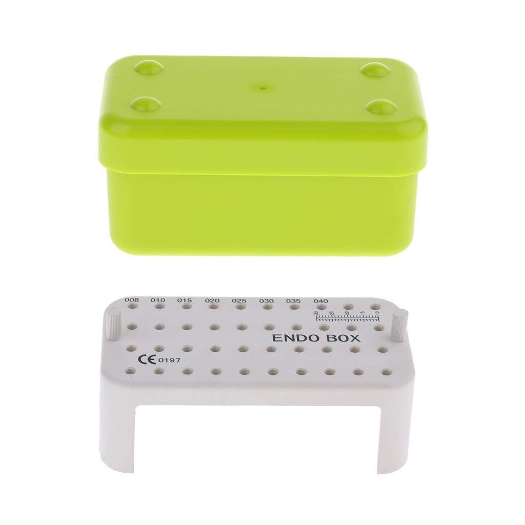 Caja de almacenamiento para guardar archivos dentales, color verde, perfecta para almacenar la mayoría de longitudes para escenarios, limpieza y esterilización AOD: Amazon.es: Industria, empresas y ciencia