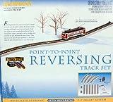 Bachmann Trains Nickel Silver E-Z Track Reversing System-Ho Scale