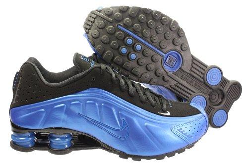 online store 9335f ce882 Nike Chaussure Shox R4-104265-400 - Homme - Pointure 44,5  Amazon.fr   Vêtements et accessoires