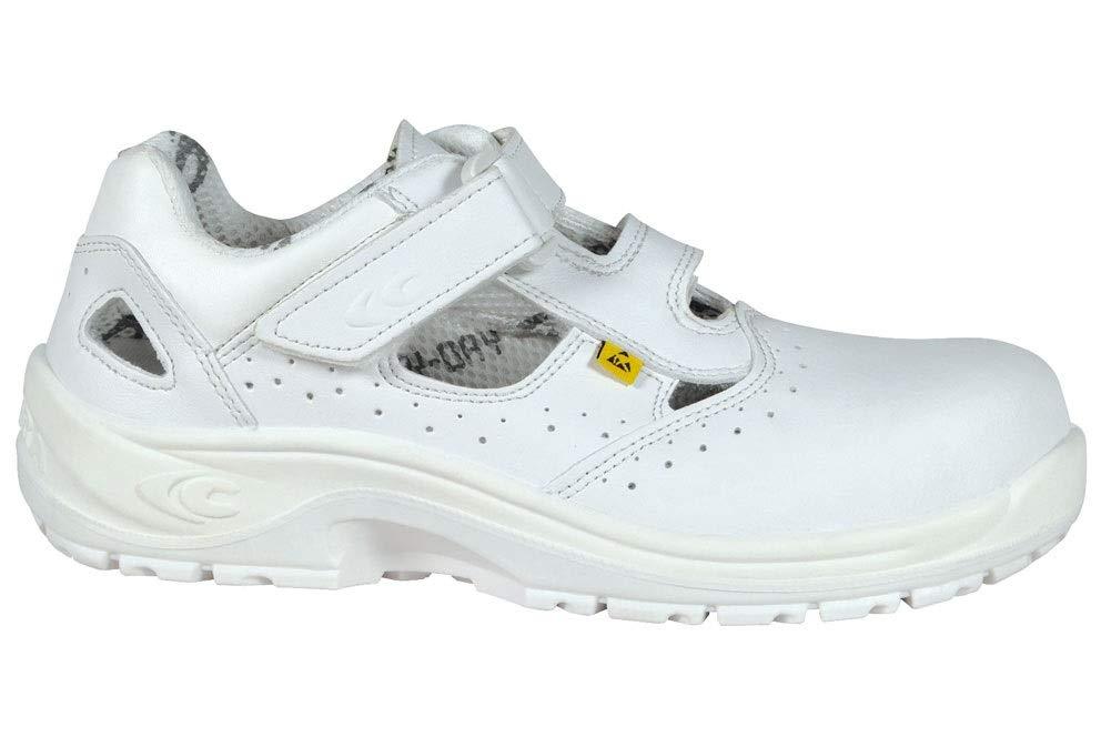 TALLA 36 EU. Cofra 10190-000 - Seguridad sandalias specials servio s1 src esd, talla 36, blanco,