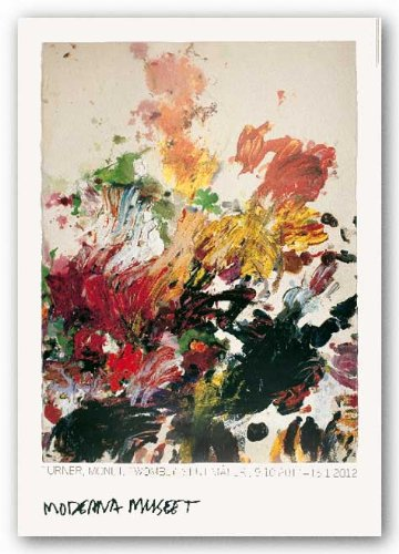 untitled by cy twombly art print poster: .co.uk: kitchen & home