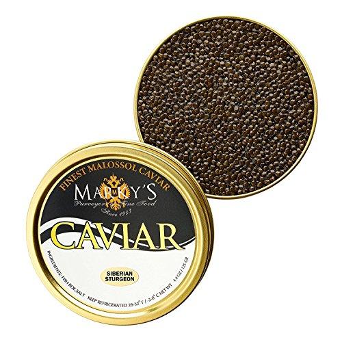 Farmed Raised Osetra Baerii Caviar Malossol - 17.6 oz (500 ()