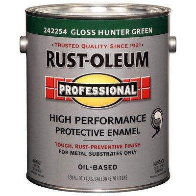Rustoleum Professional 242254 1 Gallon Gloss Hunter Green High Performance Enamel
