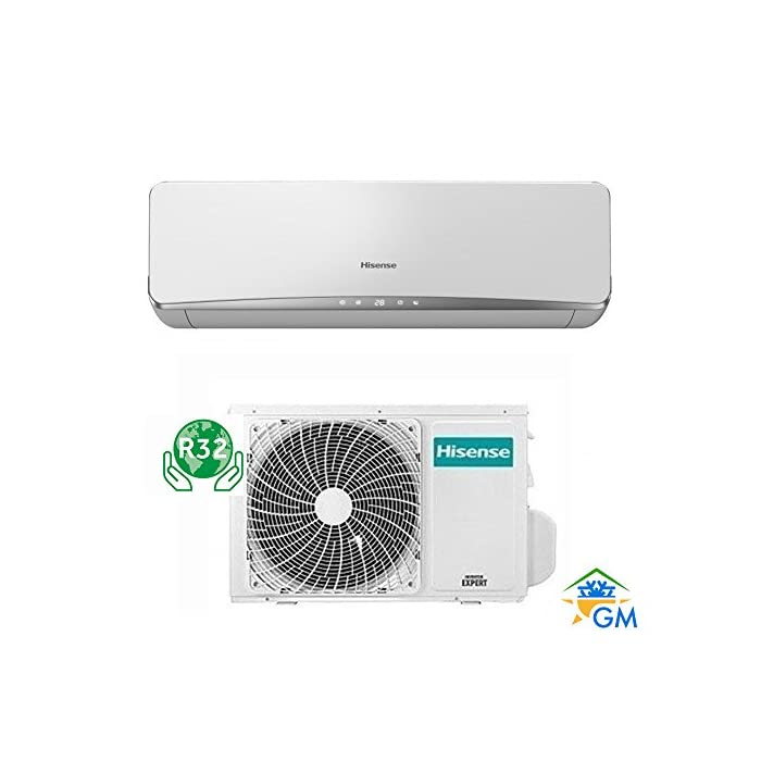 51YCb1ABH L Aire acondicionado, climatizador Inverter. Tecnología DC Inverter; Gas ecológico R32. Bomba de calor + Deshumidificador / Calefacción y refrigeración.