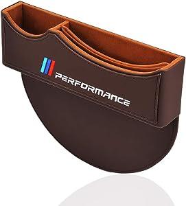 OYADM Seat Gap Filler, Console Organizer, Car Pocket, Seat Catcher, Seat Crevice Storage Box (Brown)…