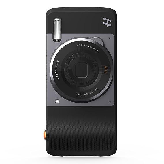 8226a473cee Motorola Moto Mod Hasselblad True Zoom, Sensor BCI CMOS, 12 Mp, Zoom Óptico  10x, Zoom Digital 4x, color Negro: Amazon.com.mx: Electrónicos