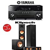 Yamaha AVENTAGE RX-A860BL 7.2 Channel Network AV Receiver + Klipsch RP-280F + Klipsch RP-450C + Klipsch R-115SW - 3.1 Reference Premiere Home Theater Package