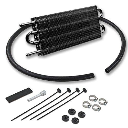 Engine Oil Cooler Lower Outlet (Universal Aluminum Transmission Oil Cooler -)