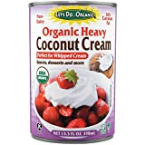 Let's Do… Organic Heavy Coconut Cream (30% Fat), 0.39 L