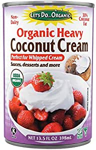 Let's Do Organic Heavy Coconut Cream, 13.5 Ounce