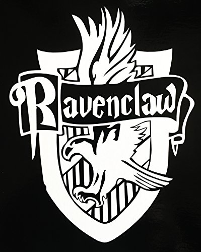 [Harry Potter RAVENCLAW Hogwarts House Crest vinyl decal for car, laptop, etc!] (Ravenclaw Mascot)