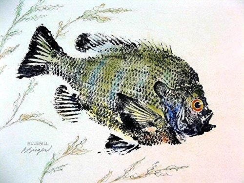 Gyotaku Fish Prints - 8