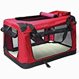WYD Pet Bag Carrier,Portable Comfort Soft Sided Pet Carrier Airline Travel,Outdoor Folding Dog Cage