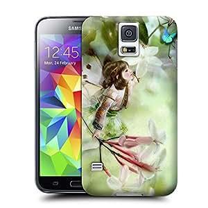 A Sleek Tpu Little Jasmine Fairy Baby Phone Cover With Texture For Samsung Galaxy S5