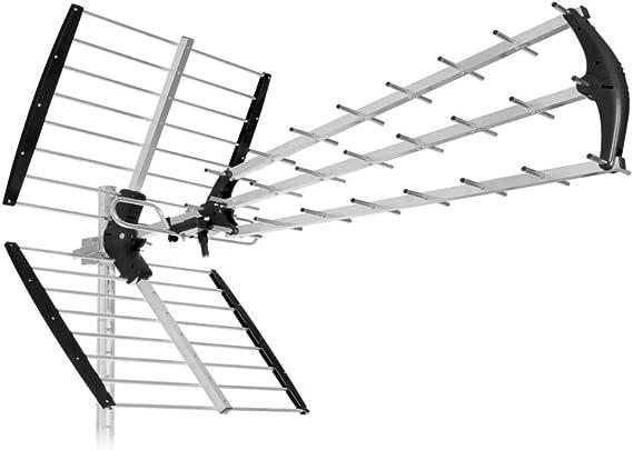 SH45/TU - Antena con 45 elementos, LTE 4G para TDT, UHF, HD ...