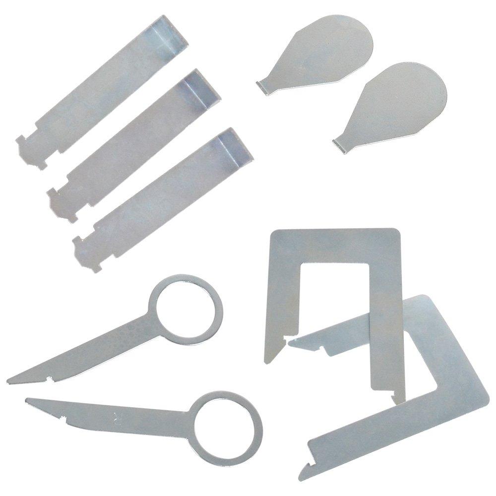 Rayinblue 36Pcs Car stereo removal key Set Tool Kit For Car GPS CD Player Radio Head Unit