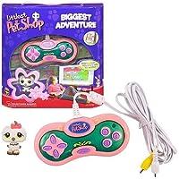 Hasbro Littlest Pet Shop Biggest Adventure TV Plug-in Game
