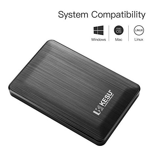 "2.5/"" 320GB Ultra Slim Portable External Hard Drive USB3.0 HDD Storage"