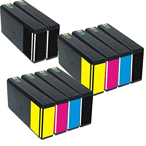 Inktoneram Remanufactured Ink Cartridges Replacement for 676XL (4x Black, 2x Cyan, 2x Magenta, 2x Yellow, 10-Pack)