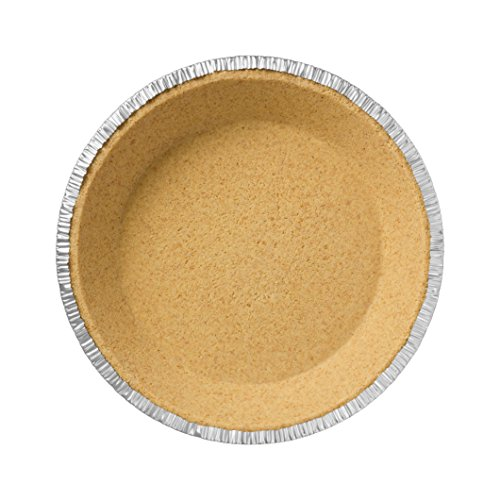 Premium 9'' Aluminum Foil Pie Pans. Disposable Tin Plates for Pies Tart Quiche. (Pack of 50) by Gypsy's Cart (Image #4)