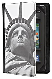 New York Times Case Cover for Kindle Fire, Liberty Face (does not fit Kindle Fire HD)