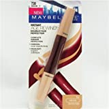 Maybelline New York Instant Age Rewind Double Face Perfector, Medium 730, 0.09 oz/2.7 ml, 1 Pack