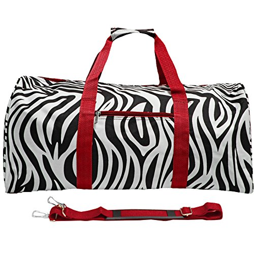 Red Trim Zebra - World Traveler 22