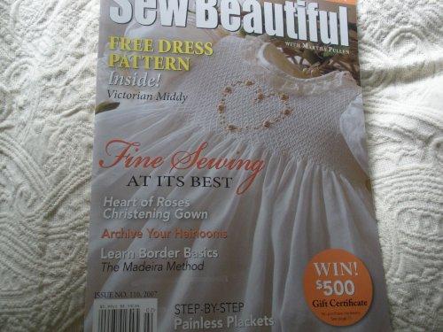 Sew Beautiful Magazine, Jan/Feb 2007