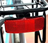 SeaISee DZ837 Bicycle Bike MTB Safety Caution Warning Reflector Disc Rear Pannier Rack ✿