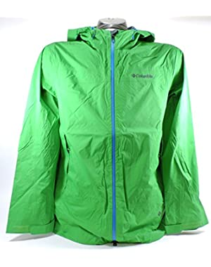 Sportswear Men's Tracer Racer Shell Jacket,Fuse Green