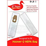 Hoover Vacuum Cleaner Type Q HEPA Bags by iClean Vacuums (10 Bags)
